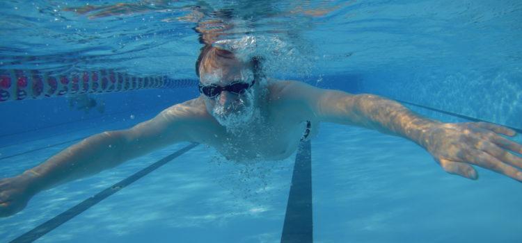 Plavání jako mentální odpočinek a sázka s doktorem